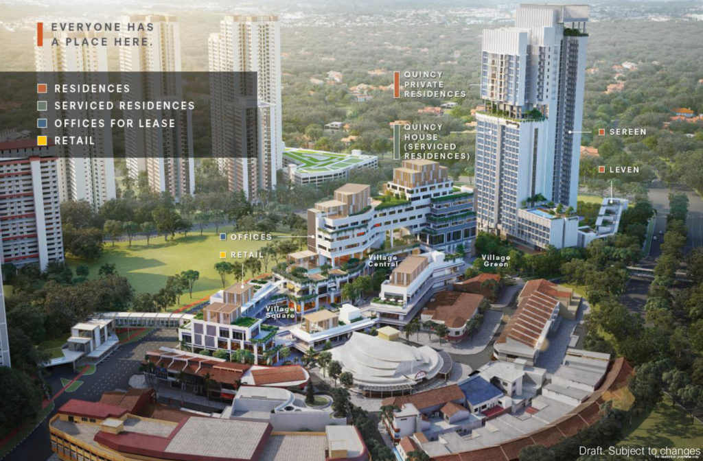 One-Holland-Village-Residences-Site-Planning