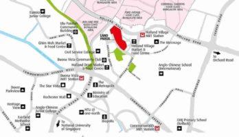 One-Holland-Village-residences-singapore-location-map