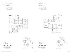 one-holland-village-residences-singapore-sereen-floor-plan-3-bedroom-C1-C2