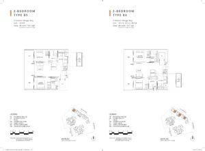 one-holland-village-residences-singapore-leven-floor-plan-2-bedroom-B5-B6