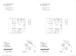 one-holland-village-residences-singapore-leven-floor-plan-2-bedroom-B7-B8